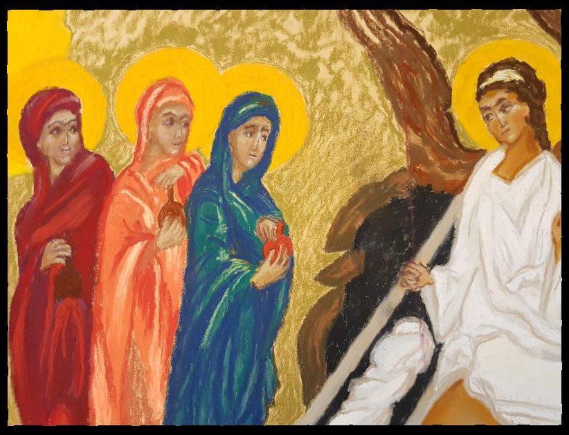 Opgewekt zijn bij de Opstanding, Pasen